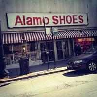Photo taken at Alamo Shoes by Michael L. on 9/13/2014