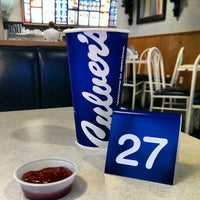 Photo taken at Culver's by Michael L. on 8/21/2013