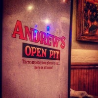 Photo taken at Andrew's Open Pit by Michael L. on 3/22/2015