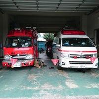 Photo taken at 川口市消防局北消防署神根分署 by Toshihisa T. on 7/29/2017