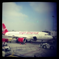Photo taken at Virgin America by Ray W. on 3/16/2013