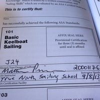 Photo taken at True North Sailing School by Ray W. on 9/8/2013
