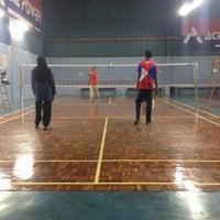 Photo taken at Dewan Badminton Sing Keong by Husna A. on 3/3/2017