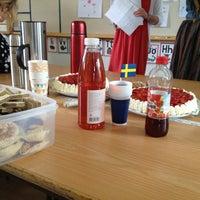 Photo taken at Bergshamraskolan by Joakim A. on 6/13/2013