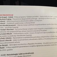 Photo taken at Hrvatsko drustvo za javno zdravstvo HLZ-a by Ena G. on 10/10/2014