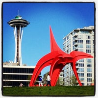 Photo taken at Olympic Sculpture Park by Jon S. on 4/23/2013