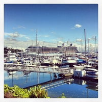 Photo taken at Elliott Bay Marina by Jon S. on 5/24/2013