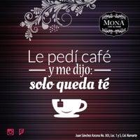 Photo taken at Mona Cafe du Monde by Adriana R. on 3/1/2016