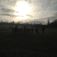 Photo taken at Reading Abbey RFC by Tim C. on 1/12/2014