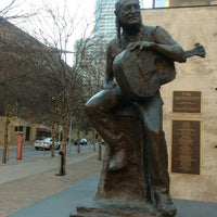 Photo taken at Willie Nelson Statue by Kelli M. on 2/18/2017