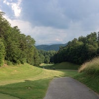 Photo taken at Gatlinburg Golf Course by Zach M. on 7/19/2013