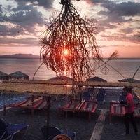 Photo taken at Psaropouli beach by Kleon K. on 8/26/2014