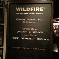 Photo taken at Wildfire by Janice V. on 12/20/2012