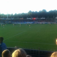 Photo taken at Mandemakers Stadion by William P. on 8/31/2013