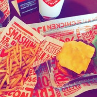 Photo taken at Smashburger by Closed on 10/2/2015