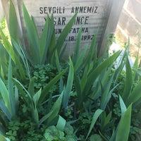 Photo taken at Feriköy İslam Mezarlığı by Özgün G. on 4/11/2017
