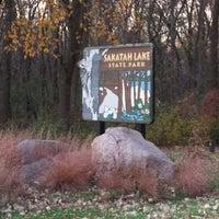 Photo taken at Sakatah Lake State Park by Jason D. on 10/24/2014