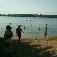 Photo taken at Dwight Lake by Jason D. on 7/4/2013