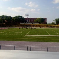 Photo taken at The Rock Bowl @ Loras College by Douglas O. on 8/24/2013