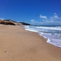 Photo taken at Praia de Cotovelo by Marise I. on 5/16/2013