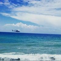 Photo taken at Club Alibey Beach by zorlu on 5/30/2015