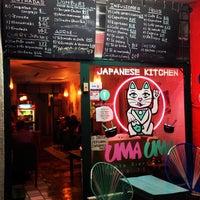 Photo taken at Uma Uma Japanese Kitchen by Francisco V. on 4/30/2013