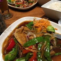 Photo taken at Mango Thai Cuisine by Nik R. on 9/16/2016