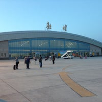 Photo taken at Dunhuang airport (DNH) by 王 晋. on 8/28/2014