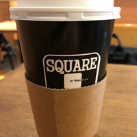 Photo taken at SQUARE Cafe (スクエアカフェ) 蔵前店 by Masaaki M. on 6/7/2018