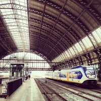 Photo taken at Amsterdam Central Railway Station by Anne Jan R. on 6/28/2013