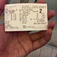 Photo taken at Golden Screen Cinemas (GSC) by shafiq m. on 10/26/2017