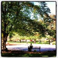 Photo taken at Shove Chapel by Naomi T. on 10/10/2013