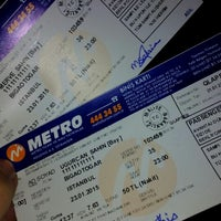 Photo taken at Metro Turizm Biga by Merve Ş. on 1/21/2015