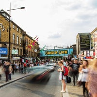 Photo taken at Camden Stables Market by Camden Stables Market on 8/7/2015