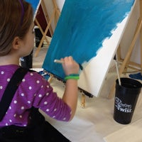 Photo taken at Painting with a Twist by Cassie M. on 2/22/2014