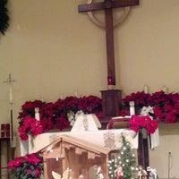 Photo taken at St. David's Episopal Church by Amanda T. on 12/25/2013