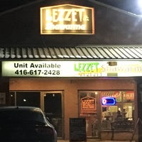 Photo taken at Lezzet Shawarma Falafel House by Derek A. on 2/17/2017