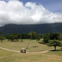 Photo taken at Olomana Golf Links by Brian C. on 7/24/2013