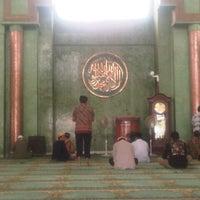 Photo taken at Mesjid Al-Amin by Rahditya S. on 2/1/2013