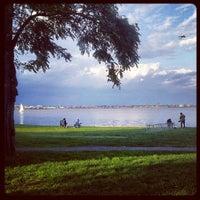 Photo taken at Indigo Landing Afterdeck by Jon K. on 9/30/2012
