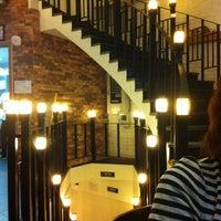 Photo taken at Angel-in-us Coffee by Hwa Seek J. on 11/9/2012