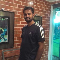 Photo taken at Netz Cricket by Sarat R. on 6/15/2013