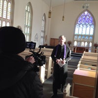 Photo taken at Little Trinity Anglican Church by Ryan W. on 2/11/2014