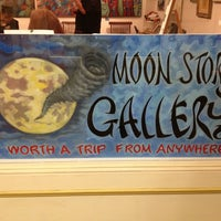 Photo taken at Moon Storm Gallery by Irvin L. on 3/10/2013
