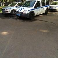 Photo taken at ОВД Ломоносовского района by Антон Л. on 9/18/2014