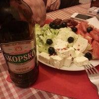 Photo taken at taverna dajti by Efe Sz K. on 9/1/2014