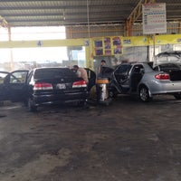Photo taken at Cyclone Automatic Car Wash by Azlin A. on 10/1/2016