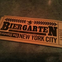 Photo taken at The Biergarten at The Standard by Dewet D. on 4/18/2013