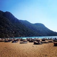 Photo taken at İztuzu Beach by Okan A. on 8/6/2014