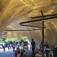 Photo taken at Serpentine Pavilion 2014 by Stijn O. on 6/29/2014